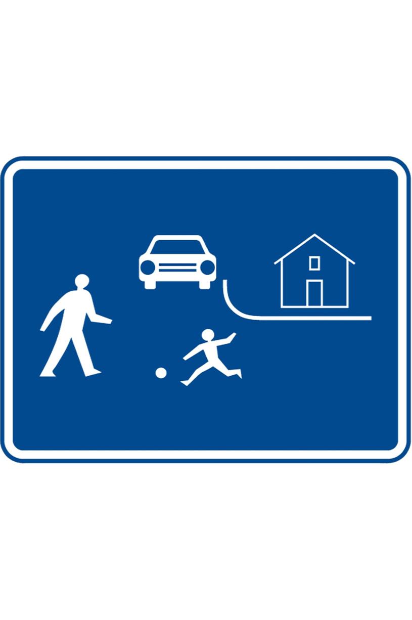 V úseku za touto dopravní značkou: